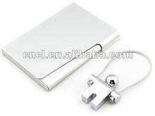 Silver Jumper Key Ring and card holder set