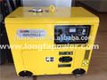 7 kva soundproof gerador diesel silencioso set