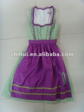 county style feature dress with apron