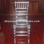 Acrylic Resin Tiffany Chair crystal clear