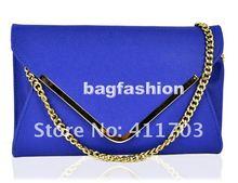 2013 New style handbag Messenger chain girls' shoulder evening bag leather envelope bag