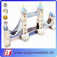 DIY London Bridge 3d paper puzzle architecture model