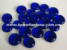 Color Flat Glass Beads For Aquarium Decoration