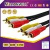 Premium 3 RCA Plug/3 RCA Plug Cable M/M
