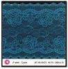 High-end Popular High Quality Blue Floral Lycra Jacquardtronic Lace Trim 60273