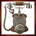 Hand Carved Wooden Smart Dial Phone(Retro Vintage Antique Home Deco Classic)