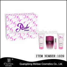 RICH good quality perfume gift set