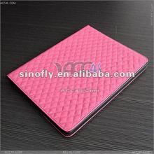 Latest fashionable leather cover case for The New iPad /iPad 3 P-iPAD3CASE029