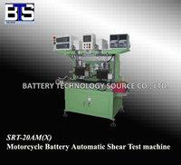 SRT-20AM(X) MOTORCYCLE BATTERY AUTOMATIC SHEAR TEST MACHINE