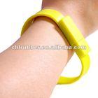 custom silicone usb flash drive bracelet