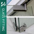 Glass folding door interior partition door frameless folding door