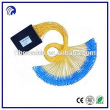 Supply 1 64 splitter /1*64 Fiber optical PLC splitter