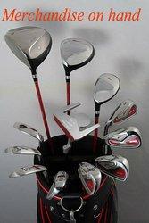 left hand golf club set for man