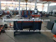 Material-dischargingEnd-milling machine aluminum profile window frame plant
