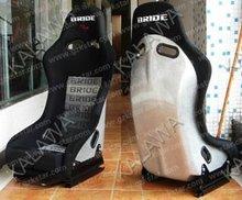 One lot/2pcs Bucket,inclusion feeling,FLANNELETTE+BRIDE cloth red/black sports racing car seat MRB03-XL