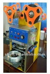 Automatic cup sealer / plastic cup sealing machine (0086-15838060327)