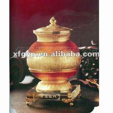 imitation antique teapot,colored glaze souvenir handicrafts