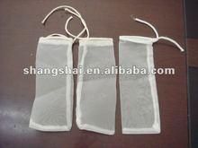 nylon mesh drawstring bags/nylon mesh fabric suppliers/nylon mesh tube