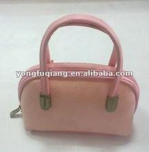 PVC leather used branded handbags