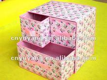 2012 New Folding cartoon sundries storage box