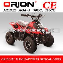 China Apollo Orion 2015 Cheap Gas 50/70cc/110cc kids atv for sale Kids Quad