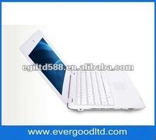 10 inch mini Laptop VIA8850 Support Windows CE 6.0 512MB/4GB Notebook