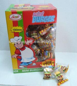 10G Gummy Mini Burger
