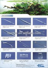 high quality aquarium plant tweezers, length: 27cm,PT-27A-1