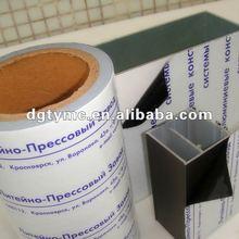 (We are manufacturer) milk white film for sandwich plate,acp,pvc sheet,aluminium profiles