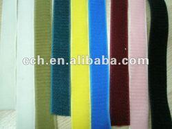 colored soft hook and loop fastener