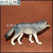 small animal toys plastic wolf figurine