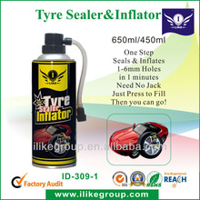 Tire Sealer and Inflator, Puncture Sealant (Sealed within several minutes, no need other tools)