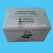 corrugated plastic packing box