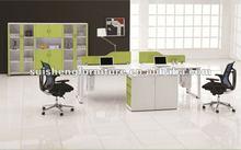 2012 Hot-sale Modern Office Desk hardware legs metal office desk