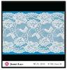 High-end Design White Elastic Lycra Lace Trim Yard Exporter 37232