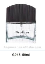 Empty Glass Perfume Bottle with Spray pump