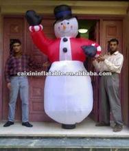 2012 new inflatable snowman/ christmas decoration/ giant christmas snowman