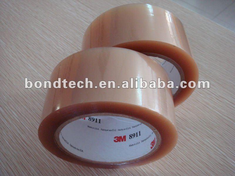 3m transparente fita de poliéster com adesivo de silicone 8911
