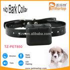 No bark collar TZ-PET850 Bark control collar Waterproof&Rechargeable