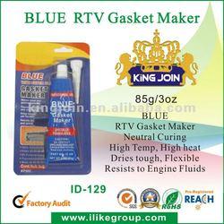 Neutral High Heat Silicone Sealant Blue