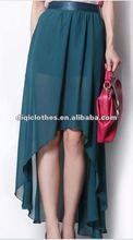 short front long back skirts,boutique dresses,lady casual beach dresses 2012