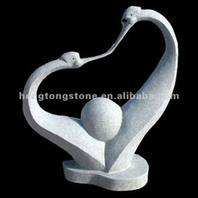 Hand Carved Abstract Stone Sculpture