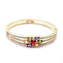 091414)Turkish Murano Glass crystal Bracelet