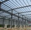 Steel frame villa/portable house/worker shop