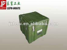 Plastic storage case for military