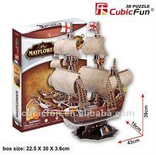 Cubic fun miniature MayFlower premium gift