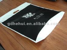 square bottom plastic shopping bag