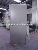 portable building metal door with split jamb,portable house steel door in Guangzhou