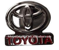 Custom metal car badges toyota emblem