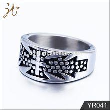 2012 fashion stainless steel mens skull rings
